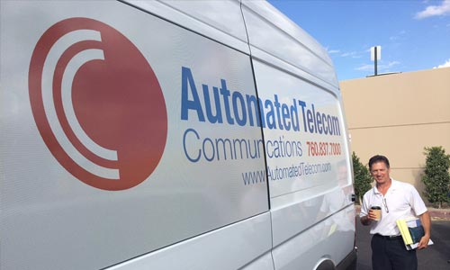 Fleet Graphics for Automated Telecom