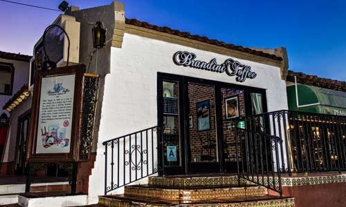 Exterior Signage - Brandini Toffee Palm Springs