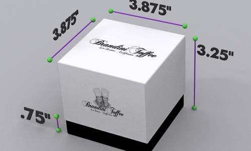 Package Design - Brandini Toffee