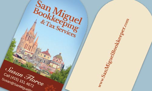 Graphic Design for San Miguel Bookkeeping
