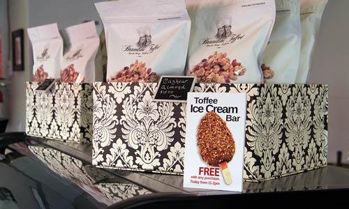 Merchandising Design - Brandini Toffee