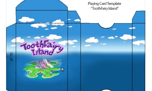 Graphic Design for Toothfairy Island